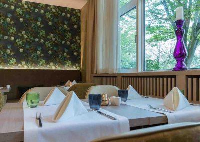 Restaurant LeJardin Fensterblick Mercure Hannover Oldenburger Allee